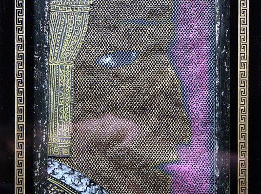Portrait, 2006, 15x10cm, mixed technique