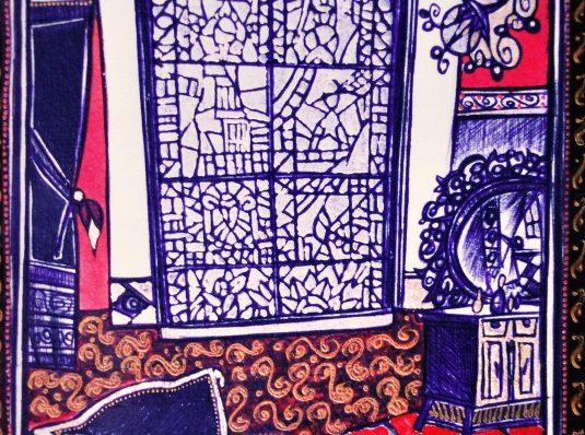 Castle I (sketch), 2006