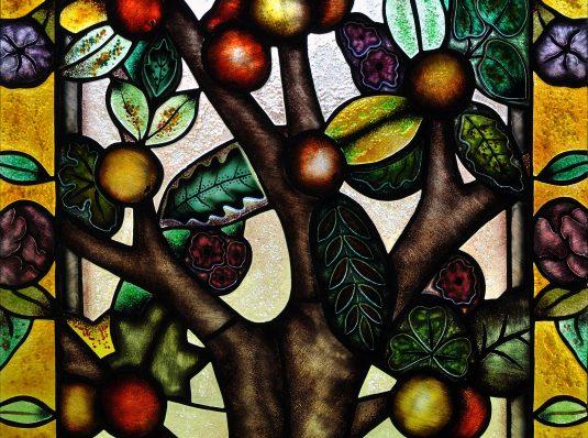 Copacul vietii, 2017, vitraliu Tiffany clasic