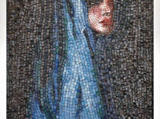 Portret, mozaic Murano