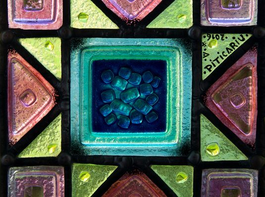 Tiffany stained glass in Arabic style