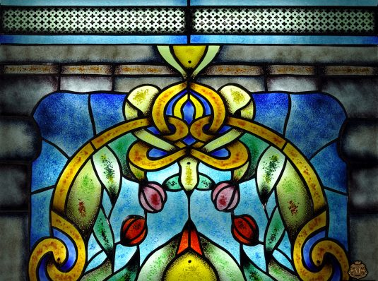 Tiffany stained glass, classic, Art Nouveau